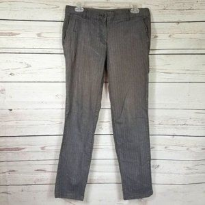 DALIA COLLECTION modern fit herringbone pants 6
